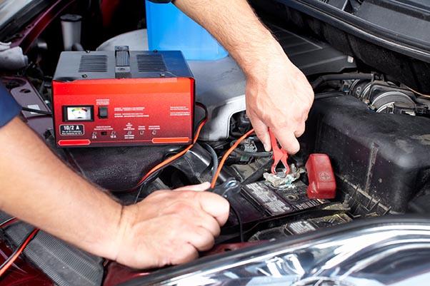 cargador de batería para el coche