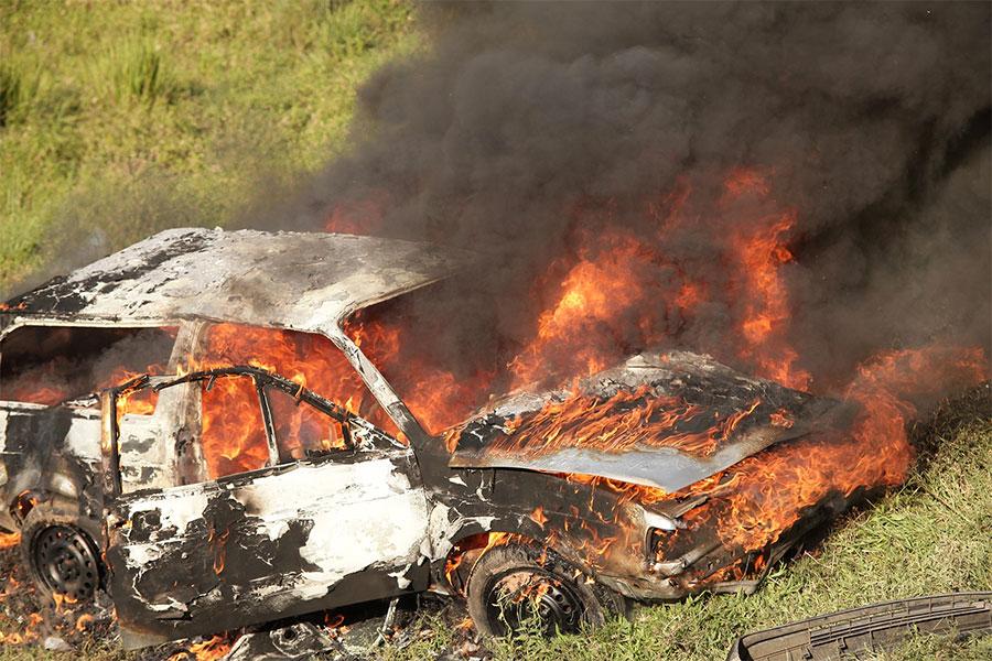Cómo evitar un incendio en el coche
