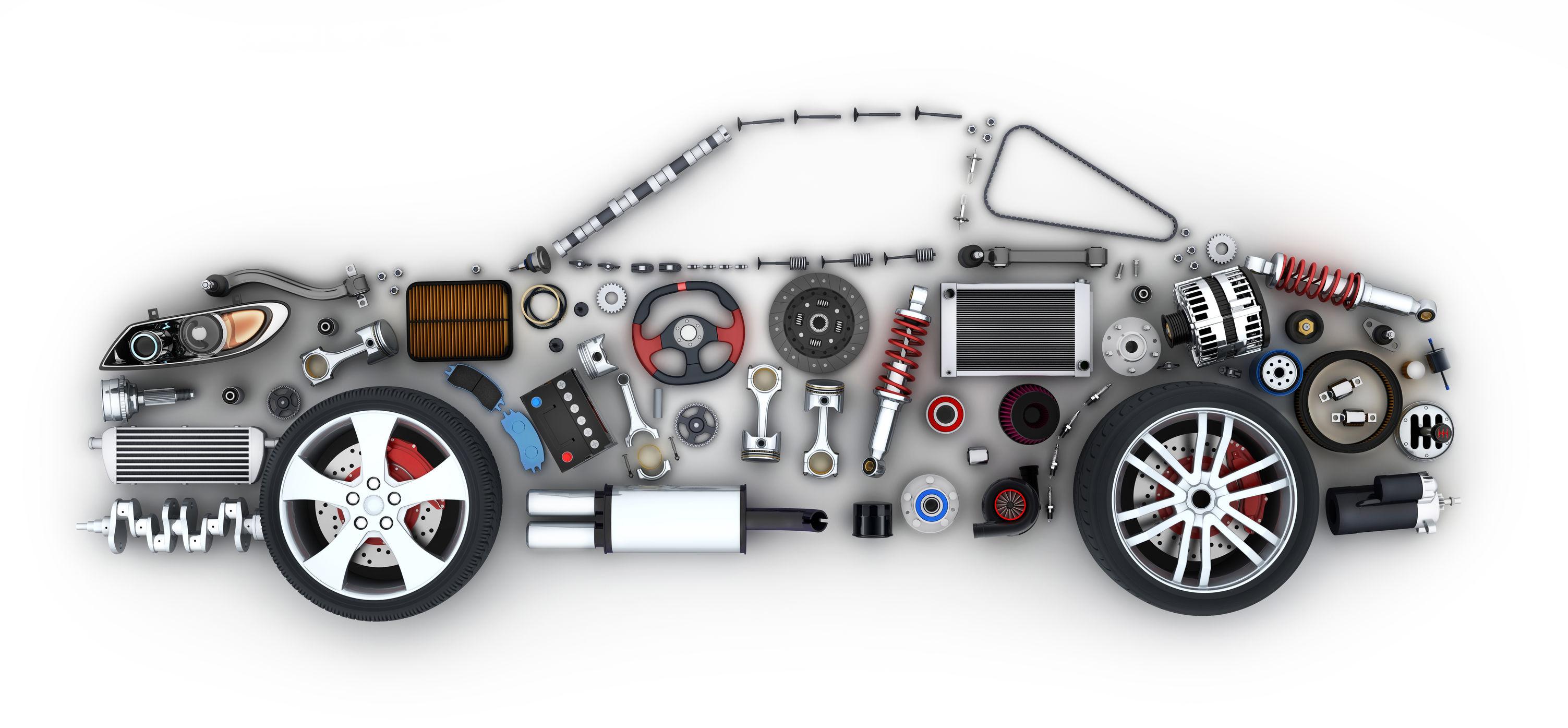recambios de automóvil