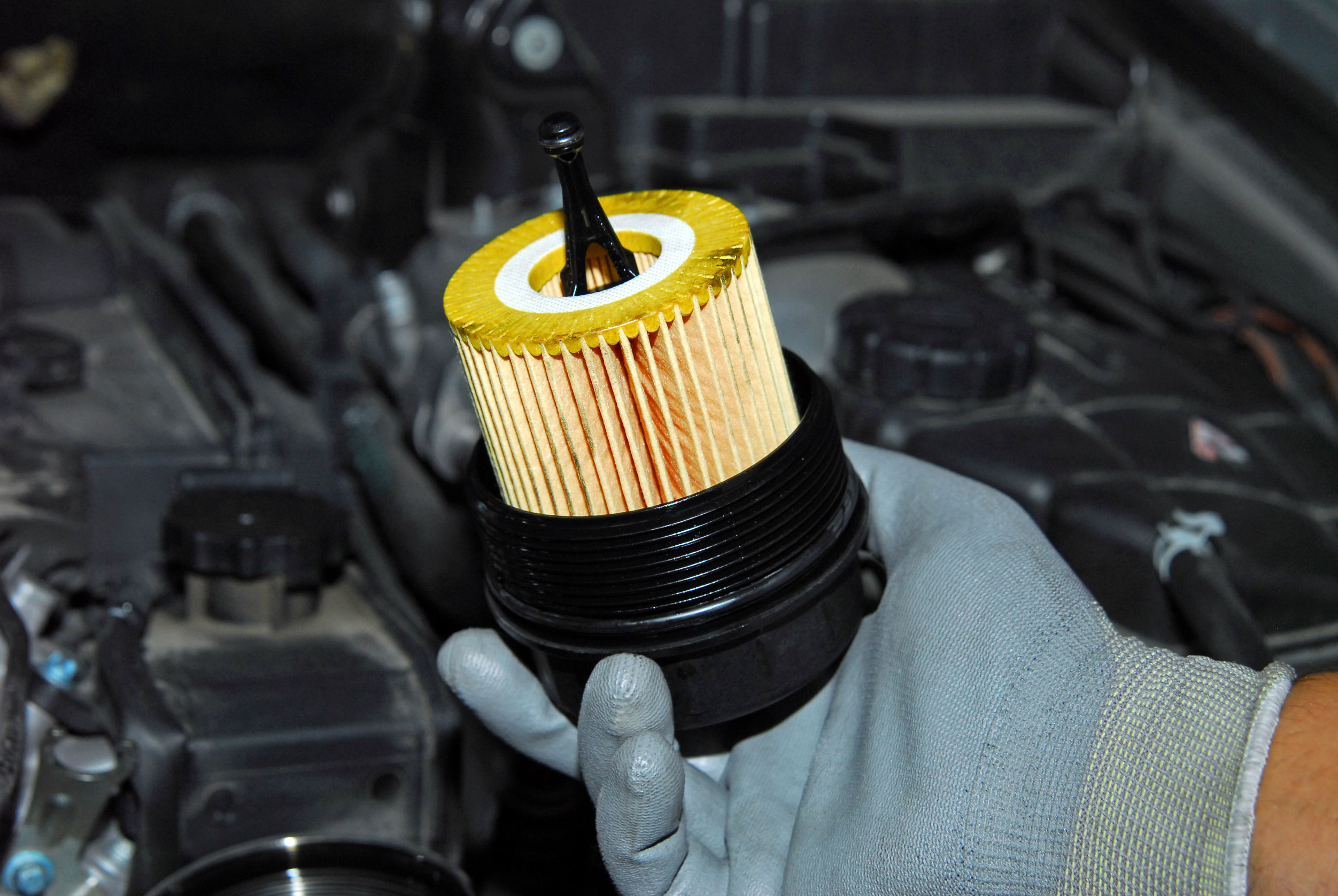 Cuándo cambiar los filtros de aceite