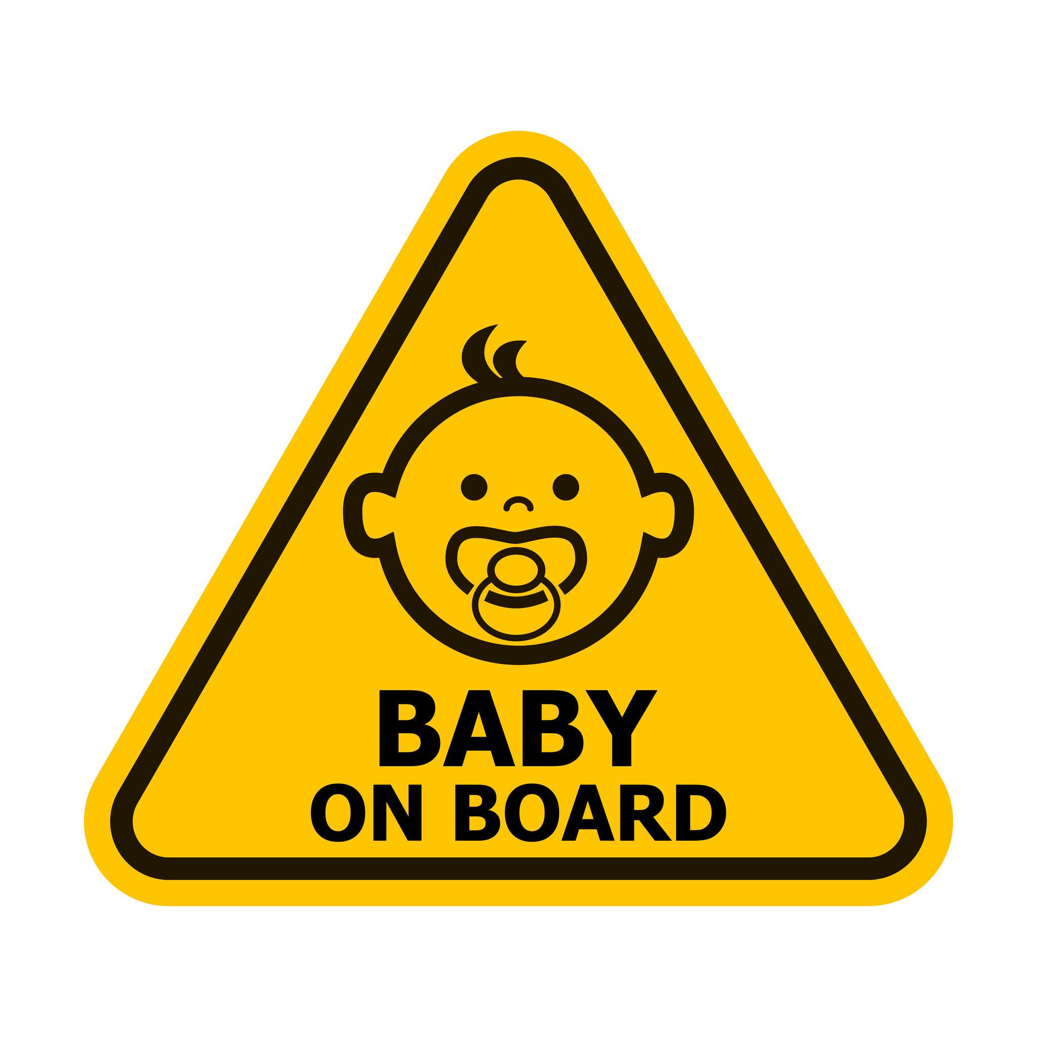 Pegatinas de bebé a bordo